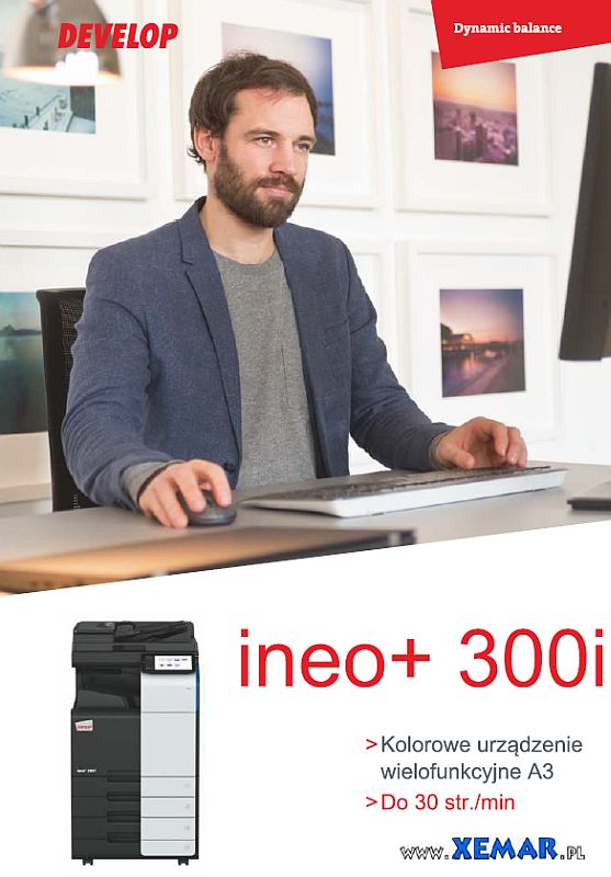 Develop ineo+ 300i