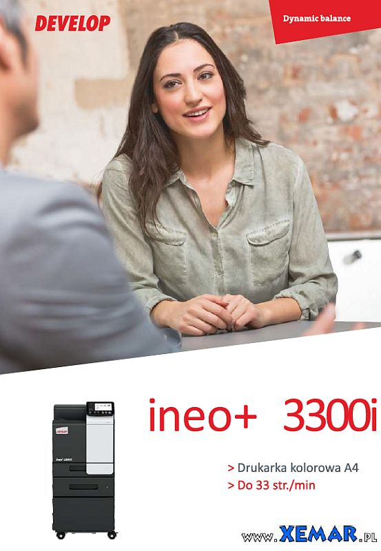 Develop ineo+ 3300i